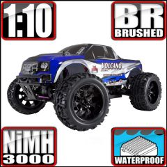 REDCAT VOLCANO EPX 1/10 SCALE BRUSHED MONSTER TRUCK BLUE
