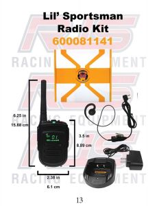 RJS600080207 RJS LIL' SPORTSMAN RADIO KIT