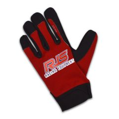RJS MECHANIC GLOVES - RED/BLACK