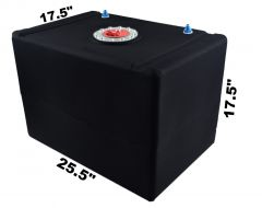 RDN3005201 RACERDIRECT.NET  32 GALLON POLY FUEL CELL WITH AIRCRAFT CAP