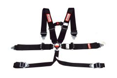 """RACERDIRECT 3"""" RACING HARNESS SFI 16.1, CAM LOCK, 6 POINT, INDIVIDUAL ROLL BAR MOUNT, PULL DOWN LAP BELTS, BOLT IN WITH STERNUM STRAP,"""