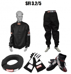 RACERDIRECT SFI 3.2A/5 TWO PIECE RACING COMBO PACK