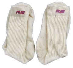 RJS RACING EQUIPMENT SFI 3.3 NOMEX SOCKS WHITE