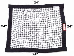 "RACERDIRECT SFI 27.1 STRING WINDOW NET (24"" X24"")"