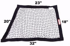 "RACERDIRECT SFI 27.1 OBLONG STRING WINDOW NET (23"" X 18"" X 32"" X 20"")"