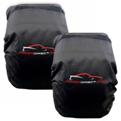 "RACERDIRECT JR DRAGSTER TIRE COVERS 18"" X 8"" X 8"" - PAIR"