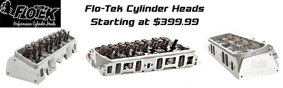 Flo-Tek Heads Starts at $399.99