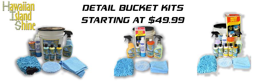 HIS Detail Bucket Kits Starting @ $49.99