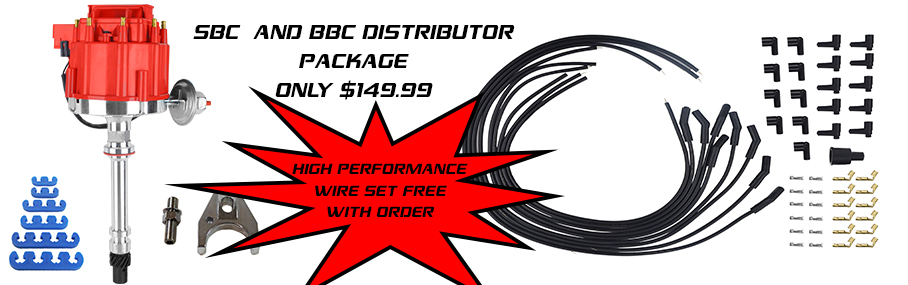 SBC and BBC DISTRIBUTOR PACKAGE FREE WIRE SET
